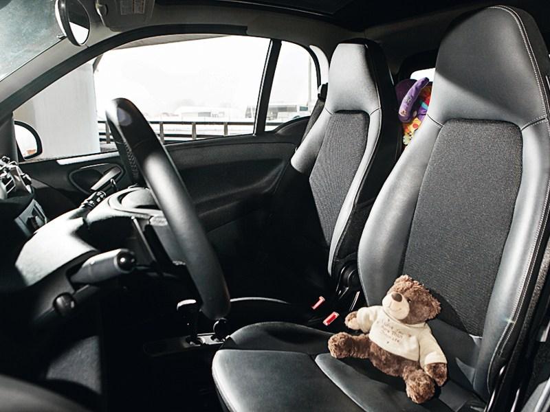 Smart Fortwo 2012 кресла водителя и пассажира
