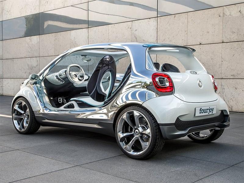 Smart FourJoy concept 2013 вид сзади