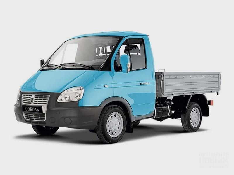 "Газель ""Соболь"" 4х4 2013 вид спереди грузовик"