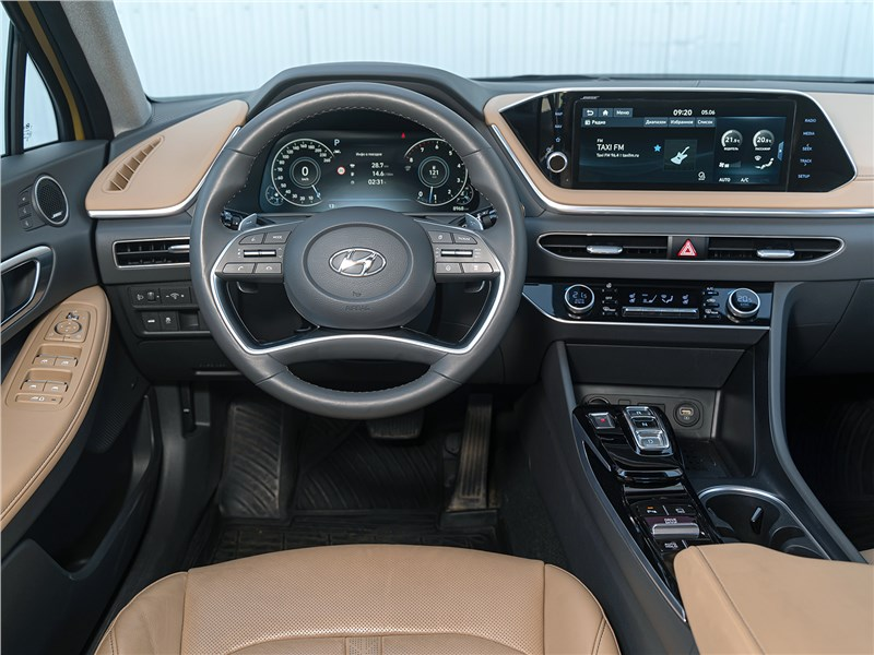 Hyundai Sonata 2020 салон