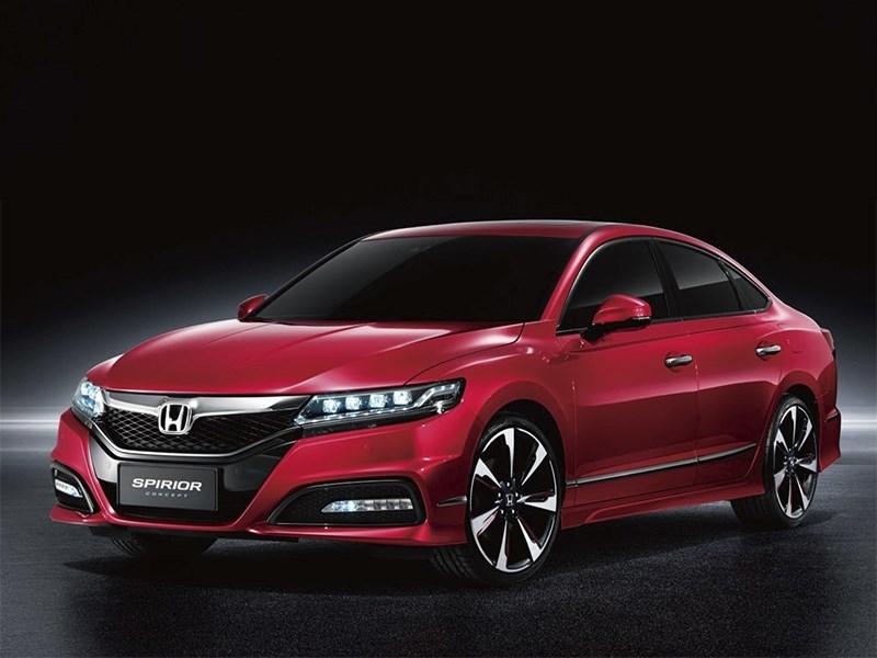Новый Honda Spirior - Здоровая агрессия