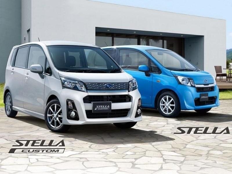 Subaru Stella 2013 вид спереди