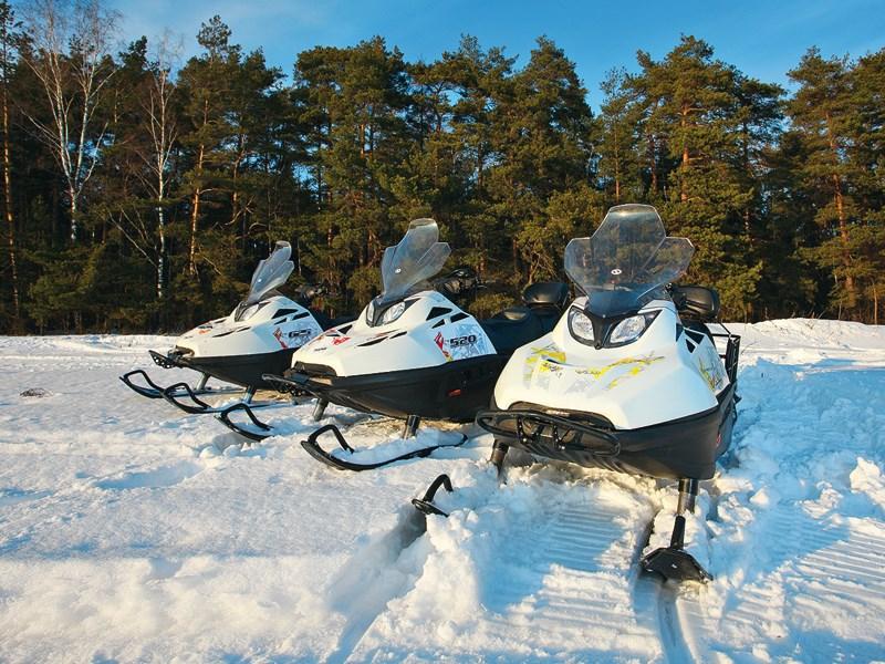 Снегоходы Stels больше не мираж