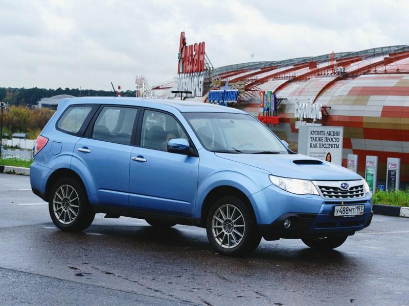 Subaru Forester S-edition 2011 вид сбоку