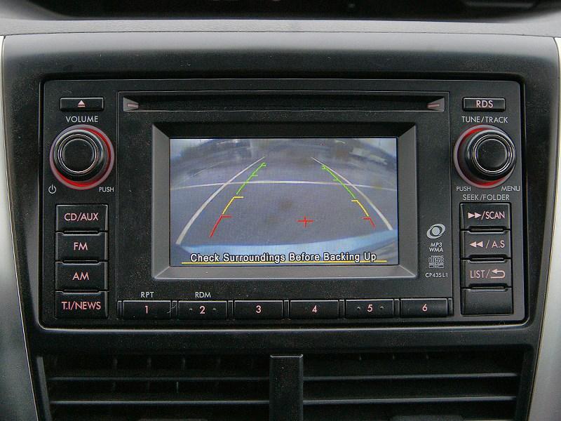 Subaru Forester S-edition 2011 Изображение с камеры заднего вида
