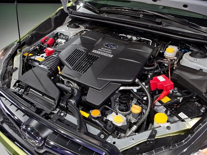 Subaru XV Crosstrek Hybrid 2014 двигатель