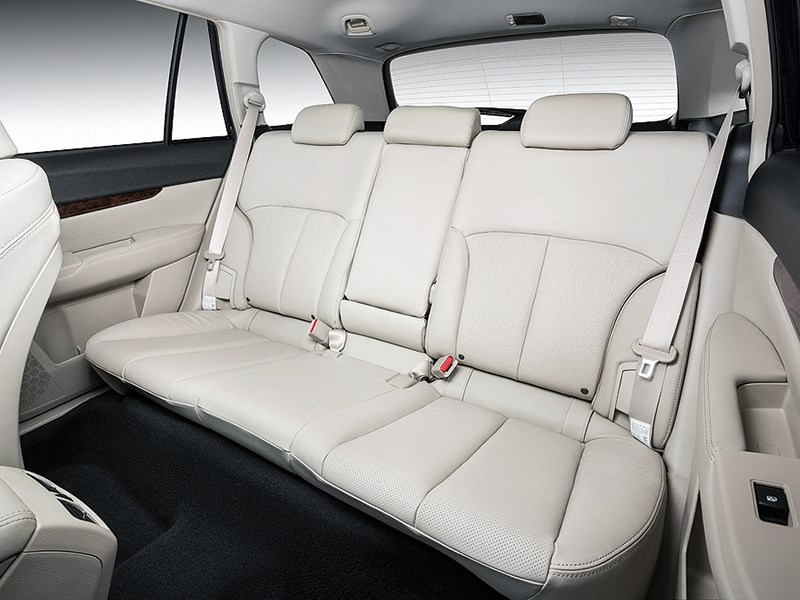 Subaru Outback 2014 задний диван