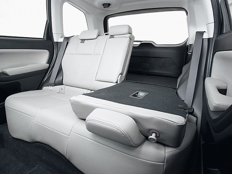 Subaru Forester 2013 задний диван