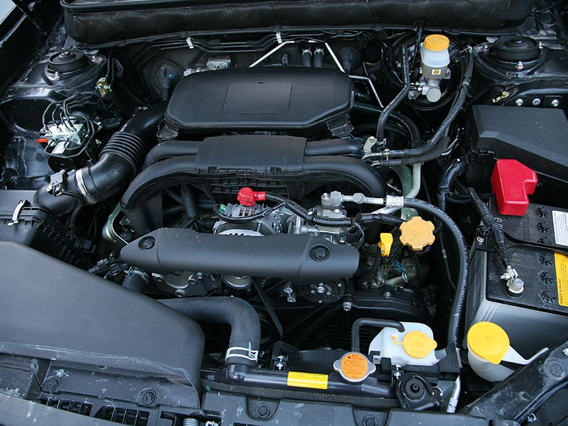 Subaru Outback 2014 двигатель