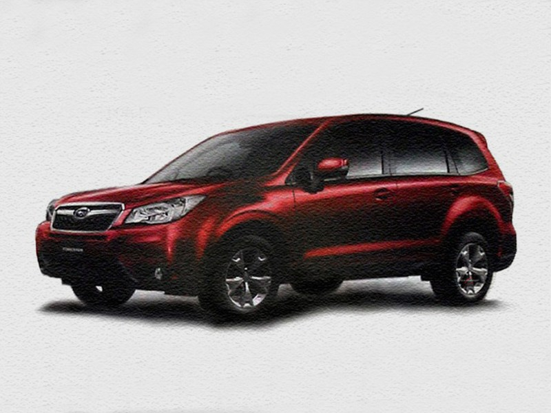 Новое поколение Subaru Forester появилось в Сети