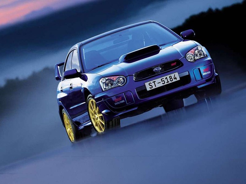 Subaru Impreza WRX STI II рест.