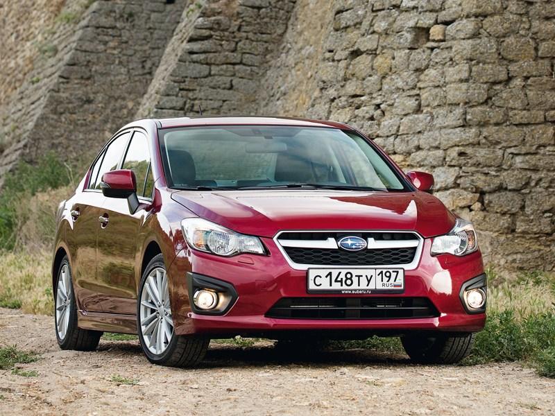 Subaru Impreza 2011 вид спереди
