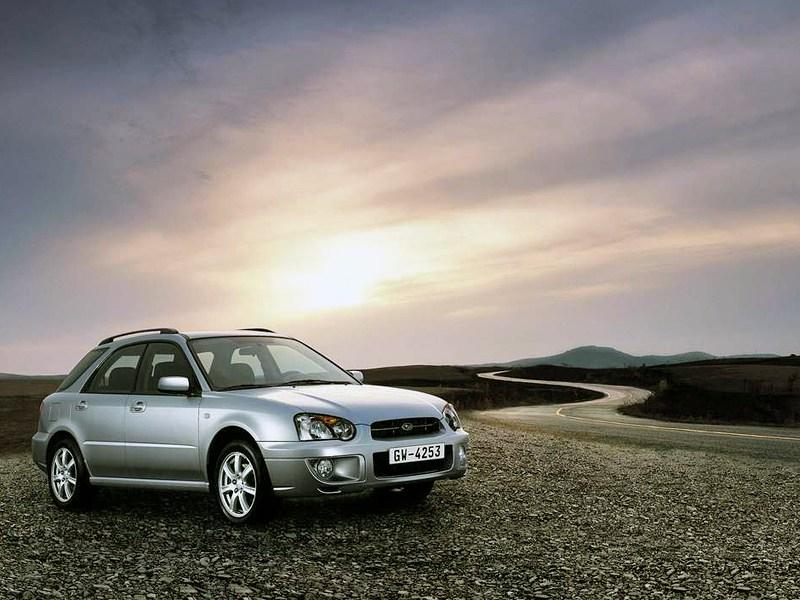 Subaru Impreza II рест.