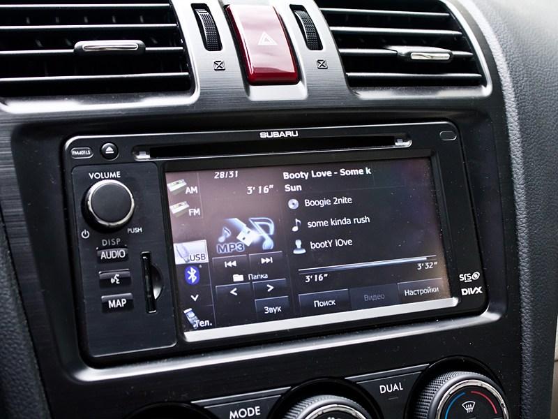 Subaru XV 2012 мультимедийная система