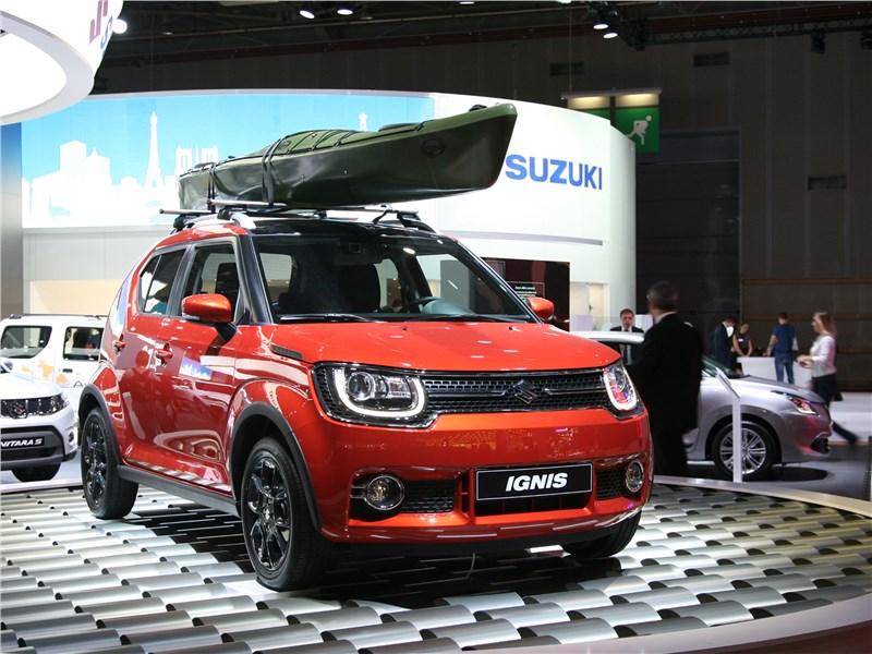 Suzuki Ignis 2017 вид спереди