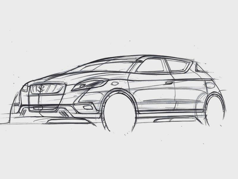 Концепт Suzuki S-Cross покажут в Париже