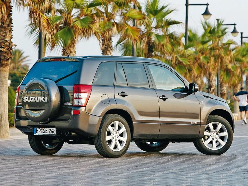 Suzuki Grand Vitara 2008 вид сзади
