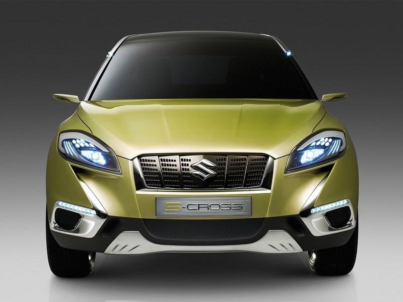 Suzuki S-Cross 2013 концепт вид спереди
