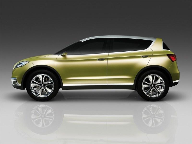 Suzuki S-Cross 2013 концепт вид сбоку