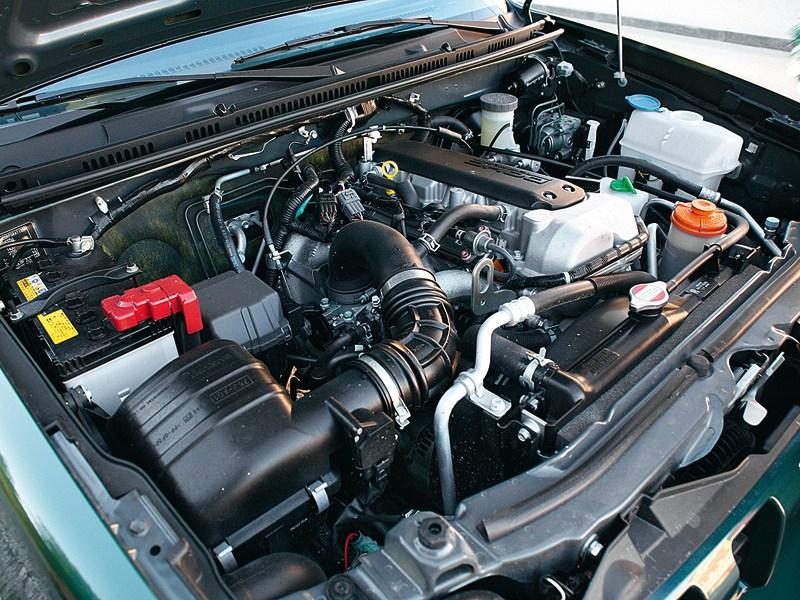 Suzuki Jimny 2013 двигатель