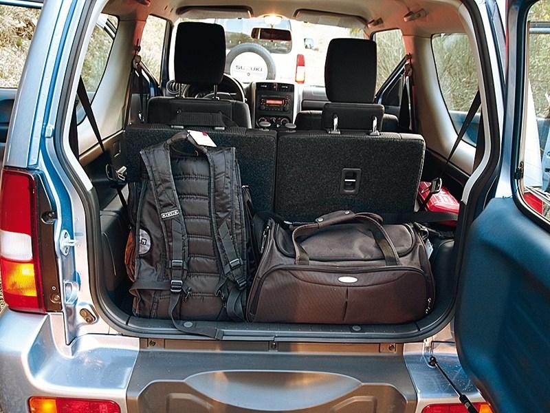 Suzuki Jimny 2013 багажное отделение