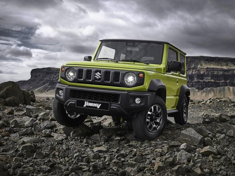 Suzuki привезет новый Jimny в Россию