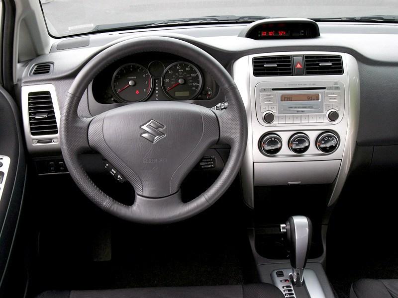 Suzuki Liana 2004 органы управления и приборы фото 1