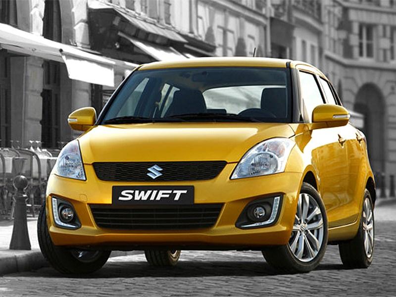 Suzuki Swift 2013 вид спереди