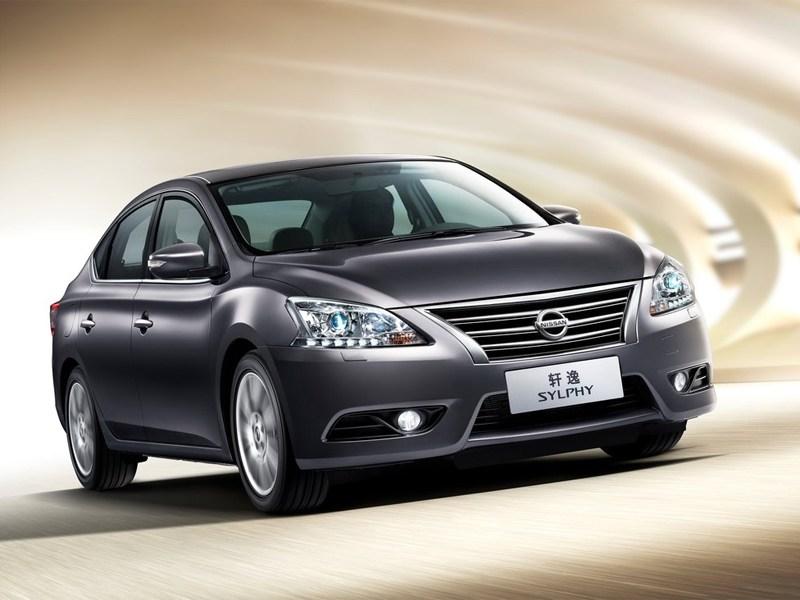 Новый Nissan Sylphy - Nissan Sylphy 2012 вид спереди