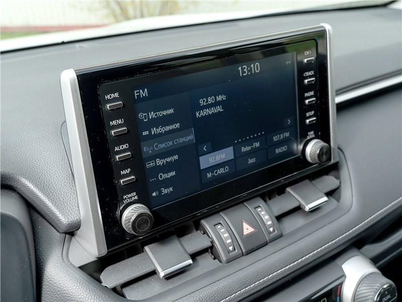 Toyota RAV4 2019 монитор