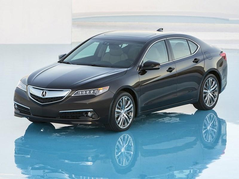 Новый Acura TLX - Acura TLX 2015 вид спереди Новый игрок