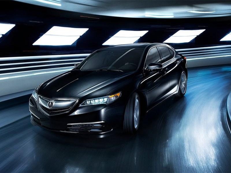 Acura TLX 2015 вид спереди сбоку