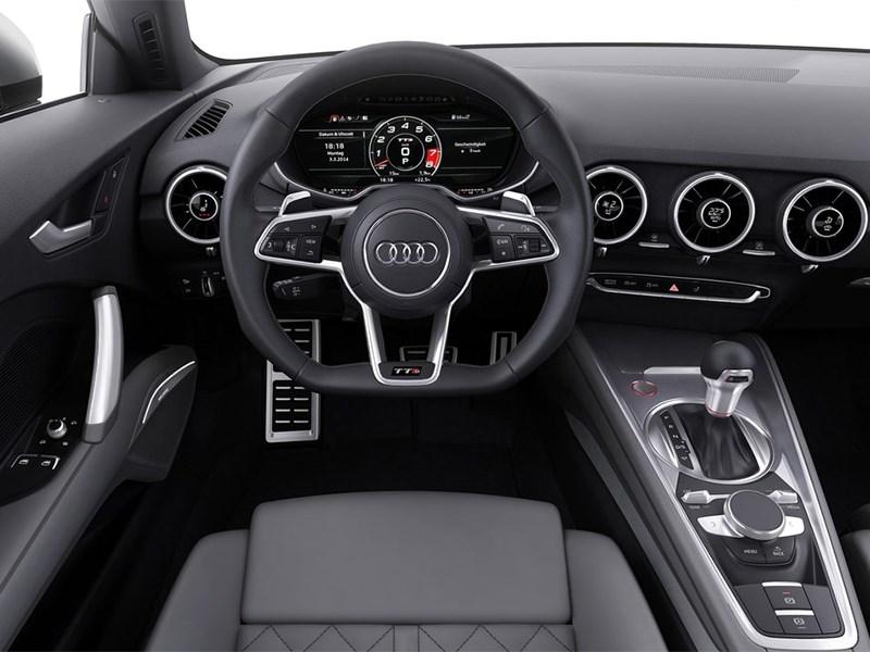Audi TTs 2014 водительское место