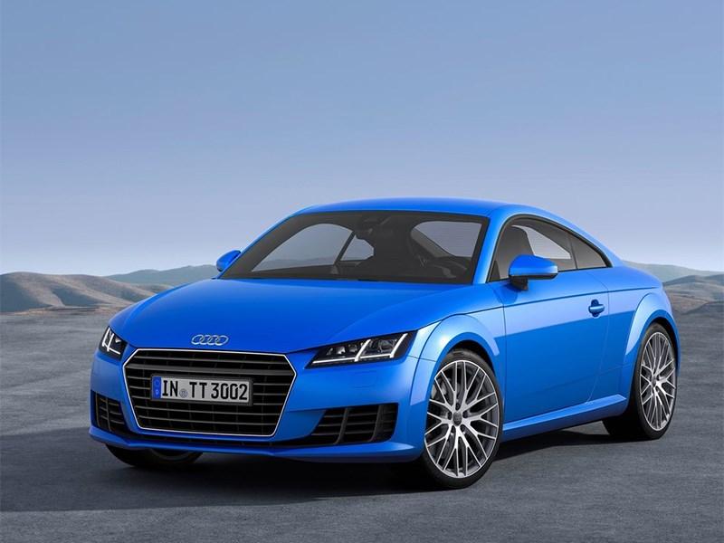 Audi TT 2014 вид спереди