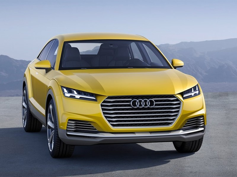 Audi TT Offroad Concept 2014 вид спереди
