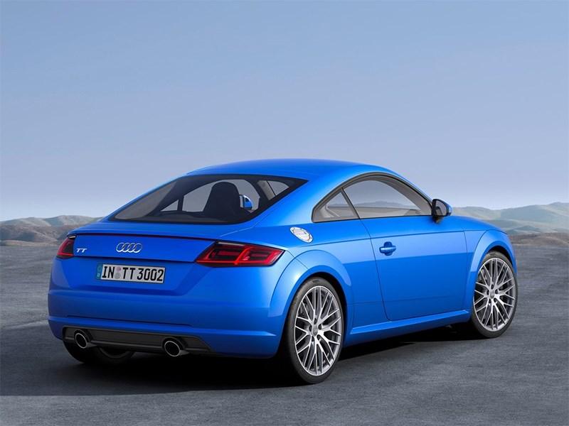 Audi TT 2014 вид сзади