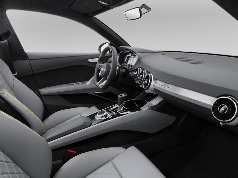Audi TT Offroad Concept 2014 передние кресла