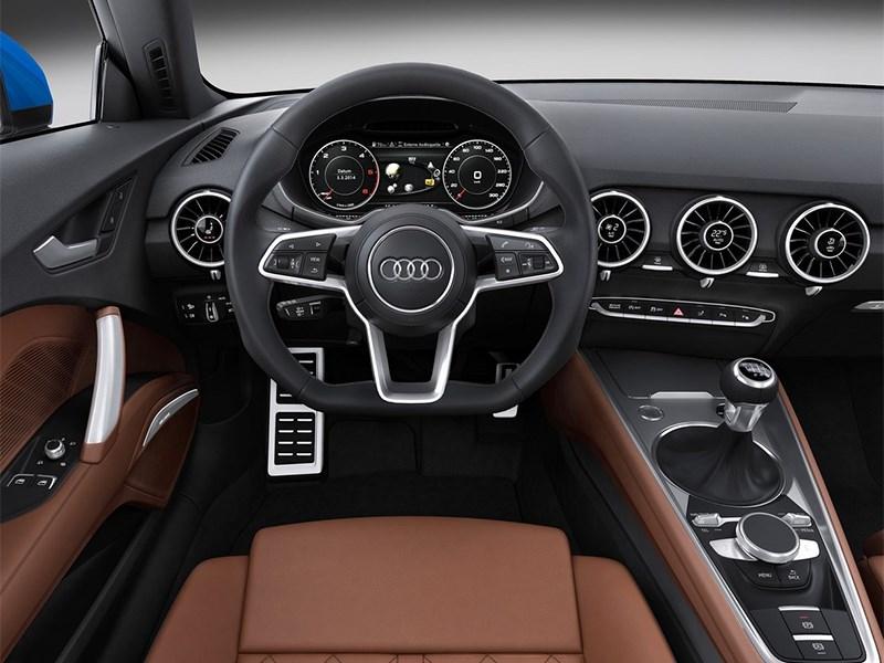 Audi TT 2014 водительское место