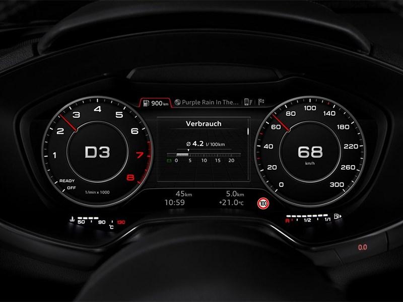 Audi TT 2014 приборная панель