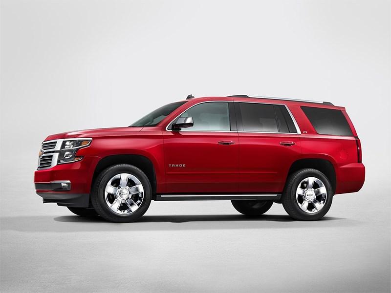 Новый Chevrolet Tahoe - Chevrolet Tahoe 2014 вид сбоку