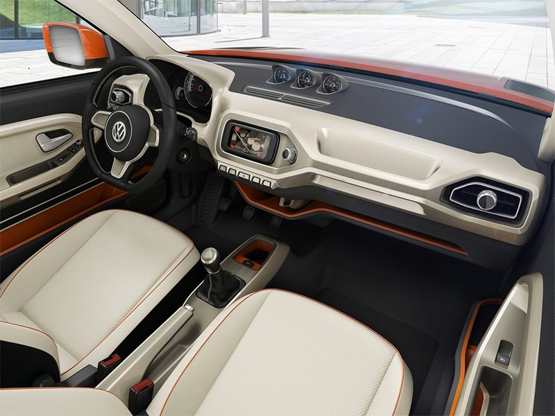 Volkswagen Taigun concept 2014 салон