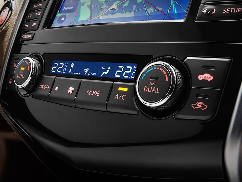 Nissan Teana 2014 мультимедийная система