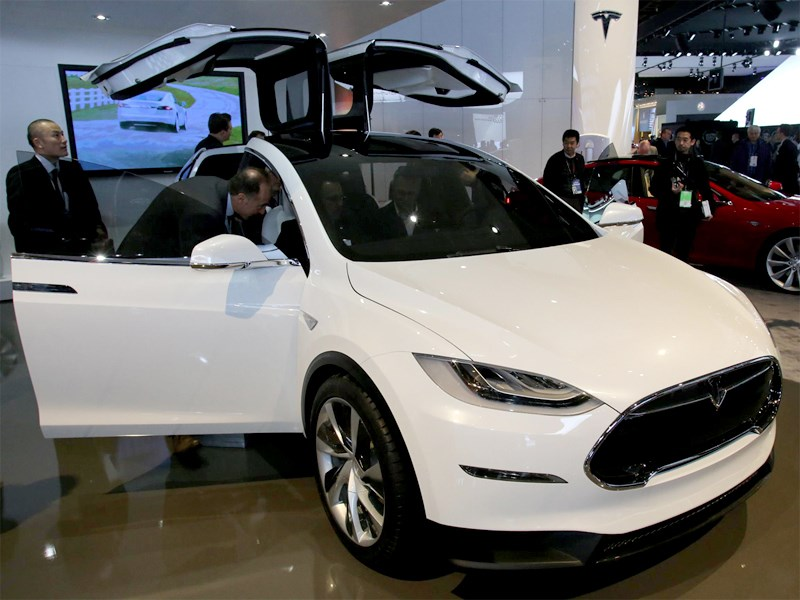 Tesla Model X 2013