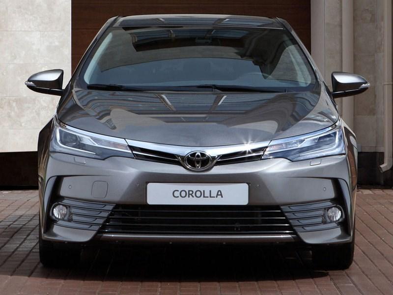 В Москве состоялась премьера обновленной версии Toyota Corolla