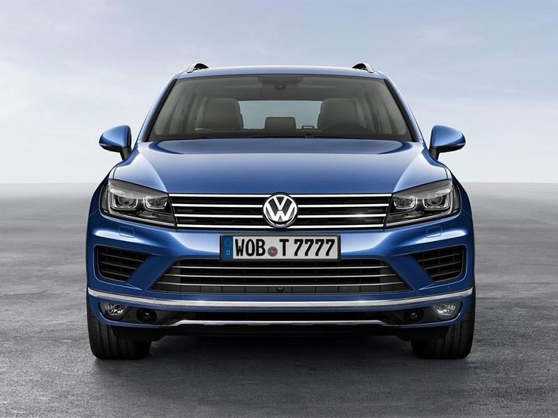 Картинки по запросу Volkswagen Touareg II спереди