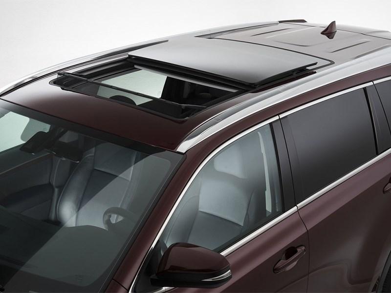 Toyota Highlander 2013 панорамная крыша