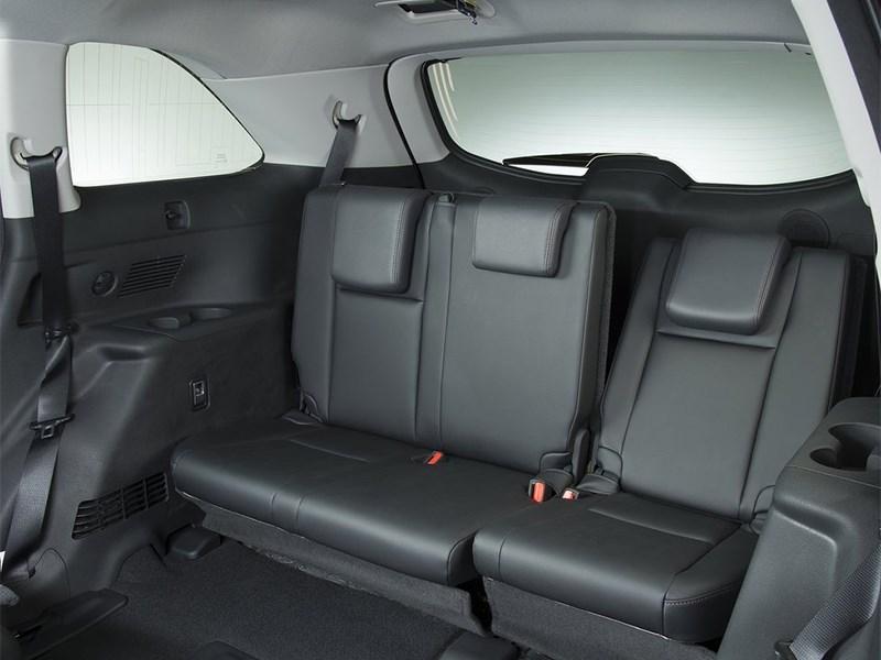 Toyota Highlander 2013 задний диван
