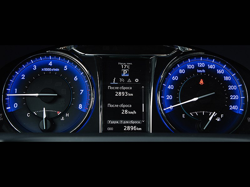 Toyota Camry 2014 приборная панель