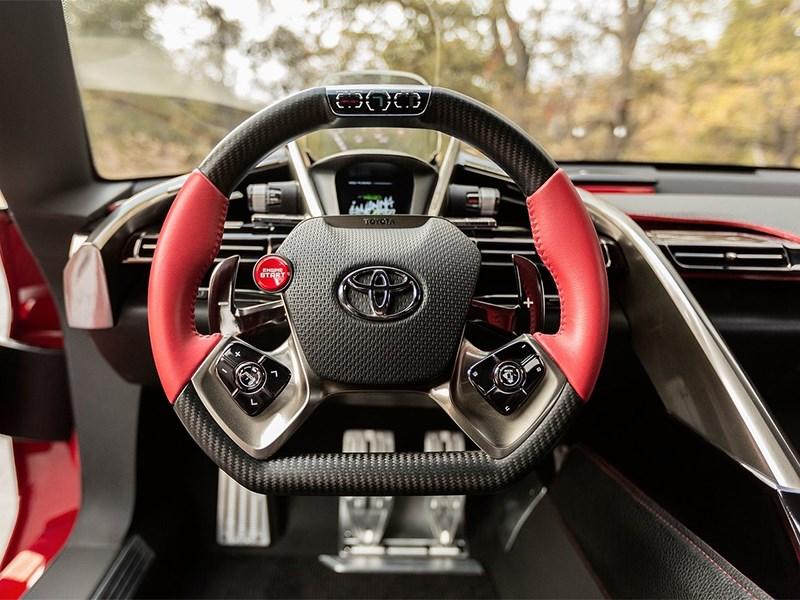 Toyota FT-1 concept 2014 водительское место