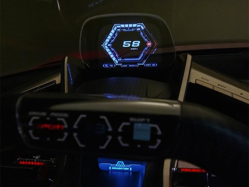 Toyota FT-1 concept 2014 приборная панель
